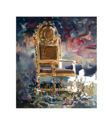painting King's Chair