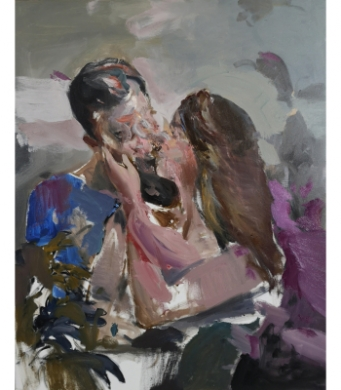 painting-the-kiss